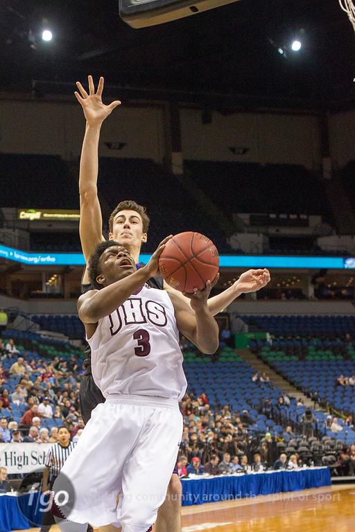 3-12-15 St. Paul Johnson v Waconia MSHSL Boys Basketball Semifinals