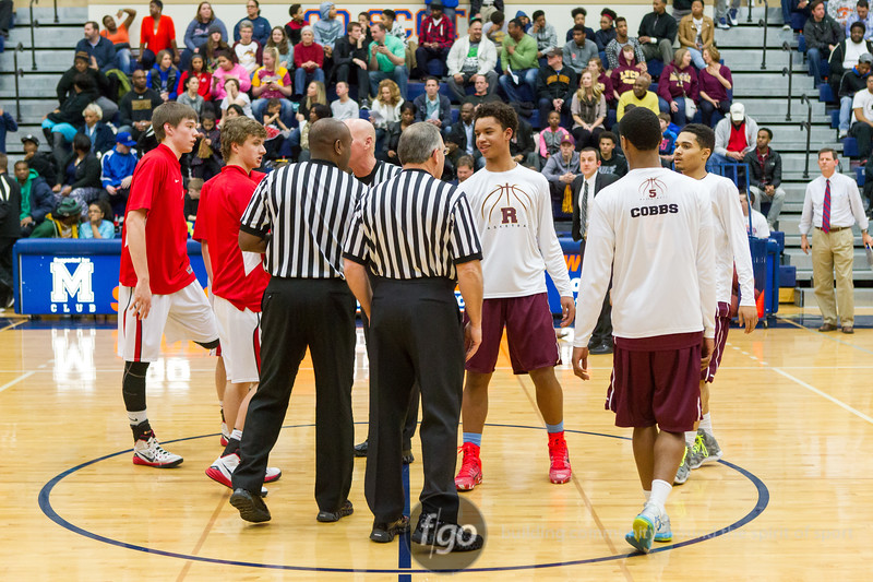 St. Croix Lutheran Crusaders v Minneapolis Roosevelt Teddies Basketball Section 4AA Championship