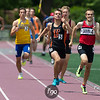 MSHSL State High School Track & Field Championships at Kaas Field, Hamline University on 6 June 2015 - Boys 4 x 400 meter Relay Finals