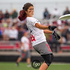 2015 USA Ultimate D1 College Championship Women's Division Semifinals - Carleton College Syzygy v Stanford Superfly at Uilhein Soccer Park, Milwaukee, Wisconsin on 24 May 2015