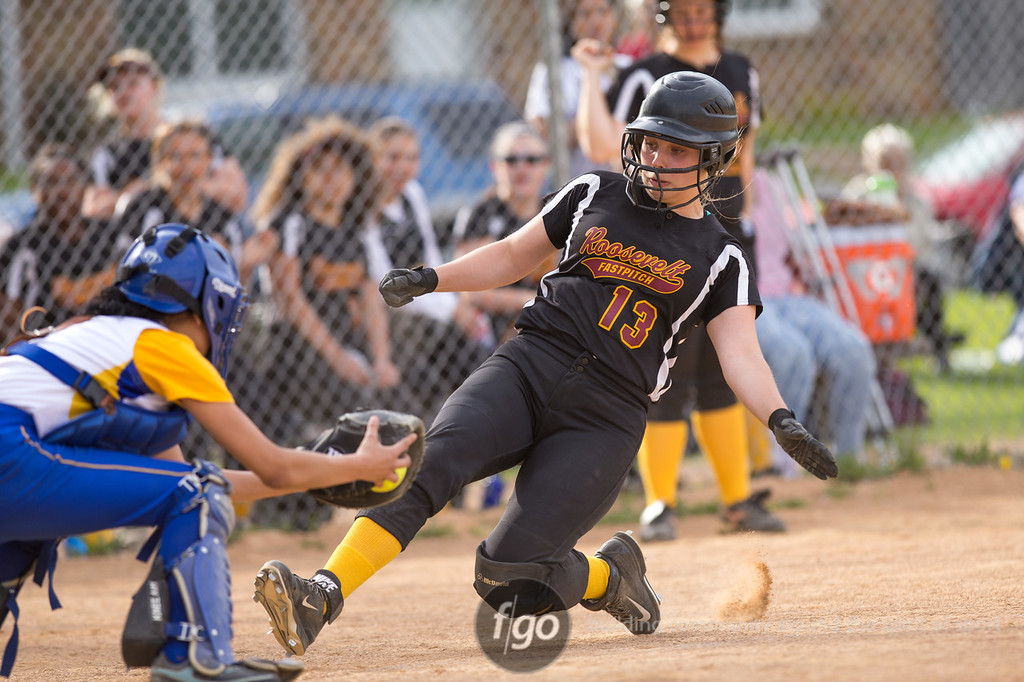 5-4-15 Minneapolis Edison v Minneapolis Roosevelt Softball