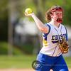 Minneapolis Edison Tommies v Minneapolis Roosevelt Teddies Softball at Bossen Field, 4 May 2015