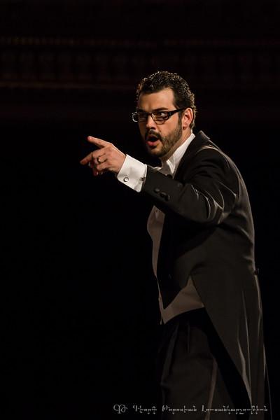 Messe & Requiem 2015,  dirigé par Philippe Bourque