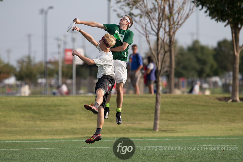 Minneapolis Sub-Zero v Portland Rhino at Day 1 of the USA Ultimate National Championships Men's Division in Frisco, Texas