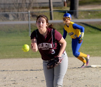 2016 AMHS Varsity Softball vs Poultney photos by Gary Baker