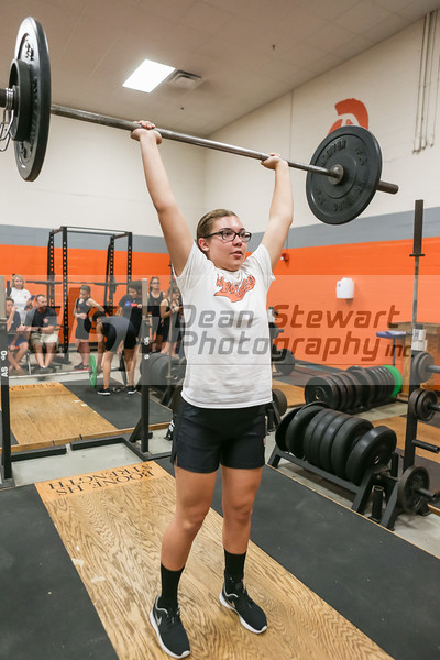 11 11 15 Winter Park Girls Weightlifting At Boone Dsp Photo