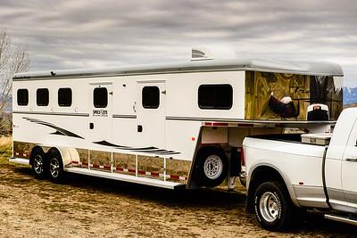 2017 Trails West Sierra GN 3 Horse Trailer-6