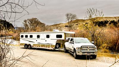 2017 Trails West Sierra GN 3 Horse Trailer-55