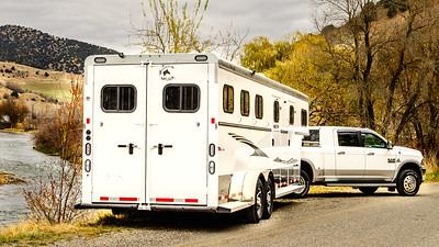 2017 Trails West Sierra GN 3 Horse Trailer-58