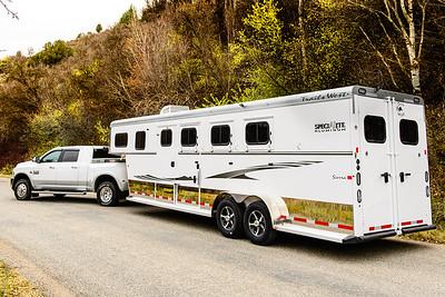 2017 Trails West Sierra GN 3 Horse Trailer-23