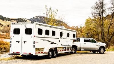 2017 Trails West Sierra GN 3 Horse Trailer-64