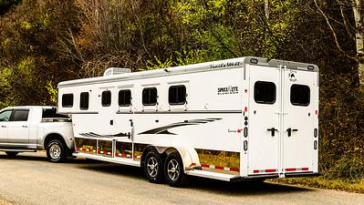 2017 Trails West Sierra GN 3 Horse Trailer-29