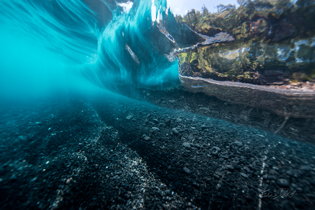 Big Island; Black Sand; Black Sand Beach; By Gabe DeWitt; Favorite things; HW; Hawaii; Nikon; Nikon D800; Nude Beach; Places; Travel; Underwater photography; Winter in Hawaii; clear water; island; outdoor gear; outex; outex housing; snorkeling; underwater; underwater housing
