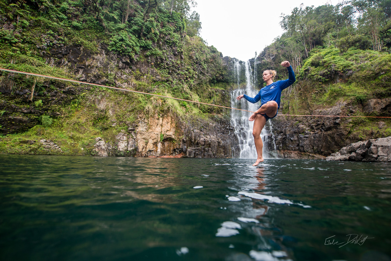 Hidden; Falls; Hilo; Hawaii; 291; Adventure; Big Island; By Gabe DeWitt; Dragon Falls; Favorite things; Friends; HW; Hawaii; Hiking; Hilo; Nikon; Nikon D800; Places; Slackline; Travel; Winter in Hawaii; hidden falls; island; outex; outex housing; water fall; water falls , Hawaii Slake Life