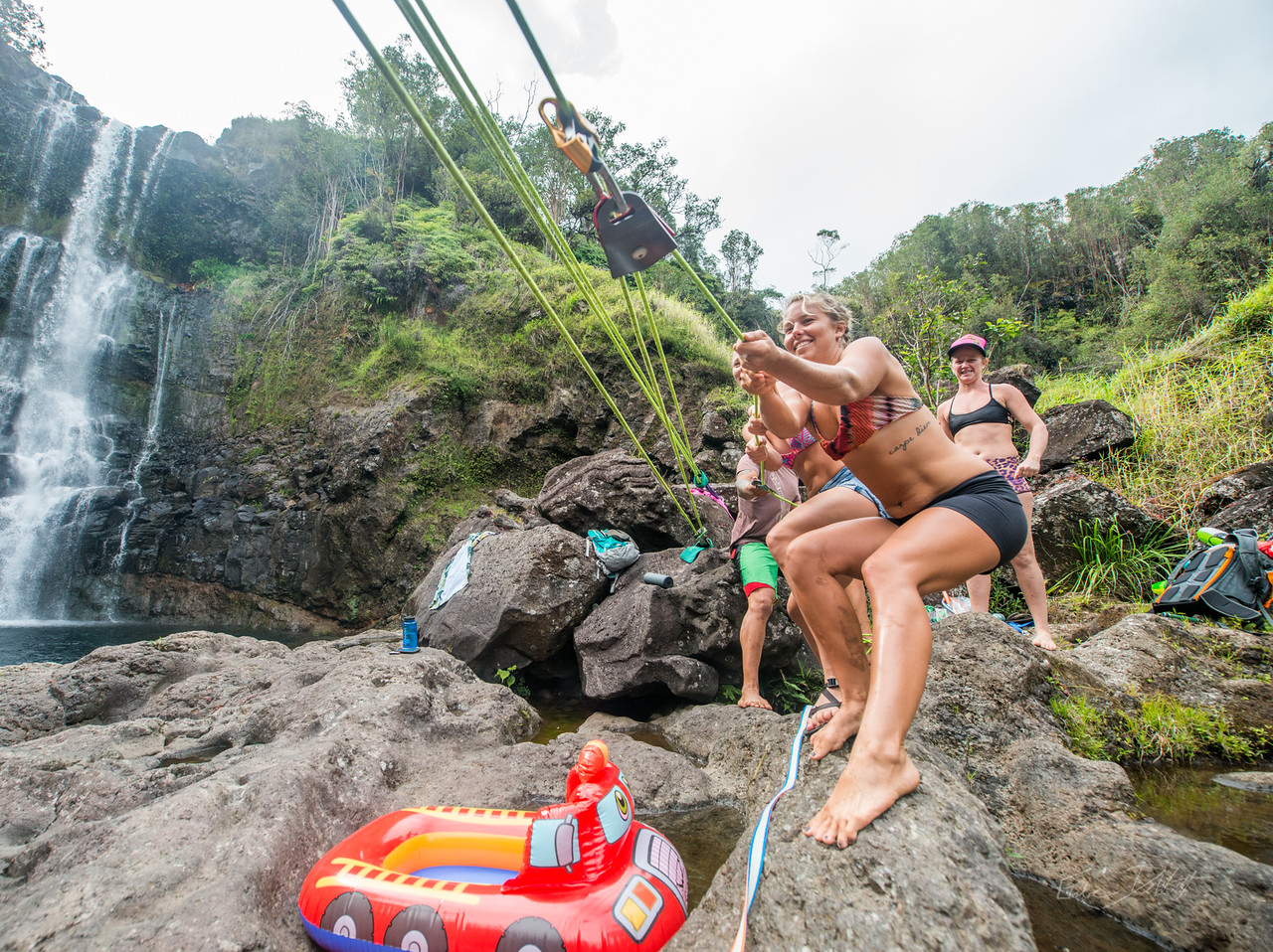 Hidden; Falls; Hilo; Hawaii; 111; Adventure; Big Island; By Gabe DeWitt; Dragon Falls; Favorite things; Friends; HW; Hawaii; Hiking; Hilo; Nikon; Nikon D800; Places; Slackline; Travel; Winter in Hawaii; hidden falls; island; outex; outex housing; water fall; water falls , Hawaii Slake Life