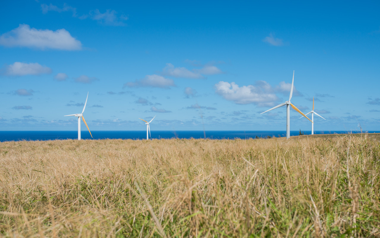 Wind; Farm; Hawaii; Big Island; By Gabe DeWitt; Energy; Equipment; HW; Nikon; Nikon D800; Places; Structures; Travel; Wind Farm; Wind Turbine; Winter in Hawaii; island; media; stock photos; work