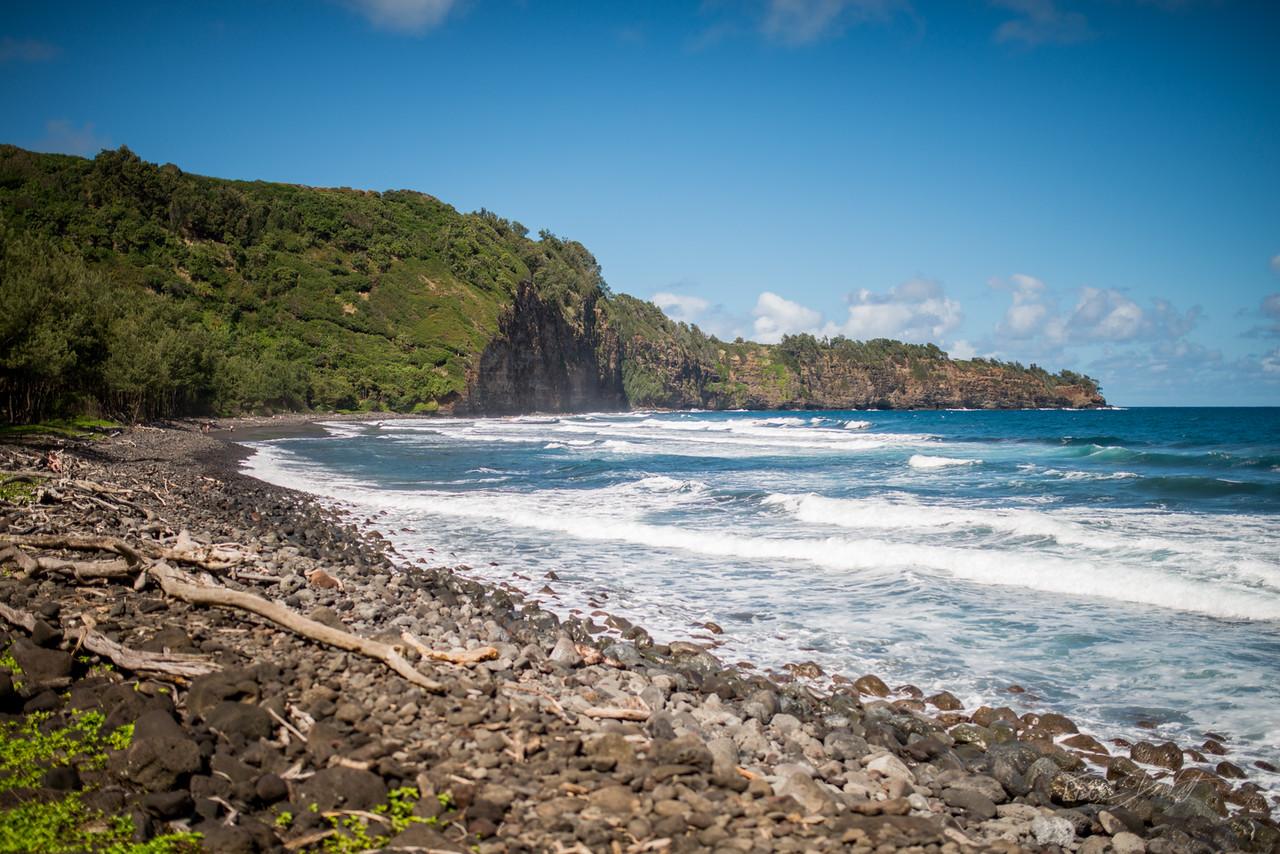 Pololu; Valley; Hawaii; 154; Big Island; Black Sand; By Gabe DeWitt; HW; Jungle; Nikon; Nikon D800; Places; Pololu Valley; Travel; Winter in Hawaii; beach; island