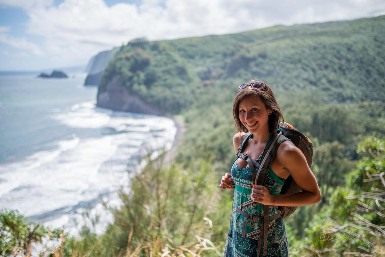 Pololu; Valley; Hawaii; Big Island; Black Sand; By Gabe DeWitt; Friends; HW; Jungle; Nikon; Nikon D800; Places; Pololu Valley; Tara Smith; Travel; Winter in Hawaii; beach; island; portrait