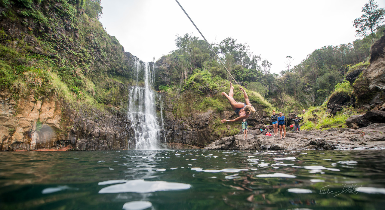 Hidden; Falls; Hilo; Hawaii; 194; Adventure; Big Island; By Gabe DeWitt; Dragon Falls; Favorite things; Friends; HW; Hawaii; Hiking; Hilo; Nikon; Nikon D800; Places; Slackline; Travel; Winter in Hawaii; hidden falls; island; outex; outex housing; water fall; water falls , Hawaii Slake Life