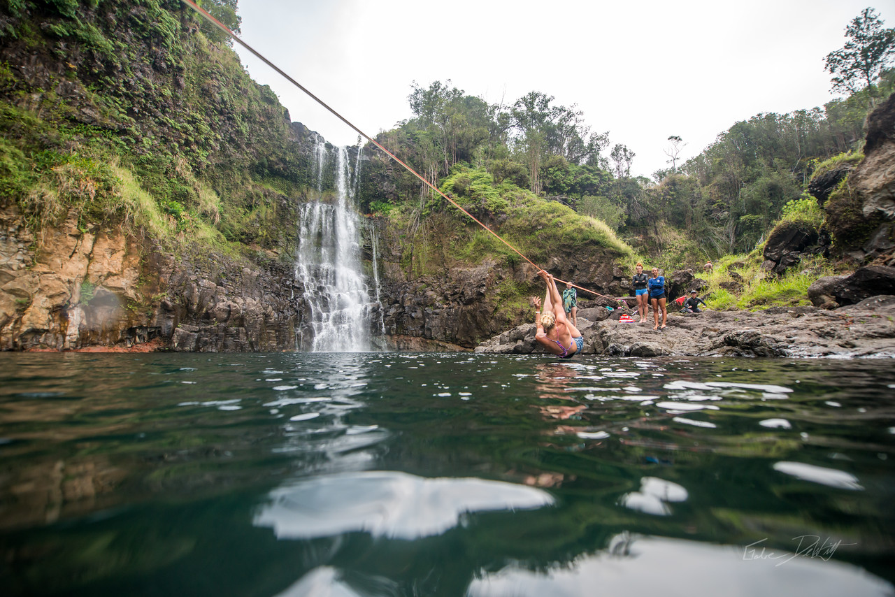 Hidden; Falls; Hilo; Hawaii; 195; Adventure; Big Island; By Gabe DeWitt; Dragon Falls; Favorite things; Friends; HW; Hawaii; Hiking; Hilo; Nikon; Nikon D800; Places; Slackline; Travel; Winter in Hawaii; hidden falls; island; outex; outex housing; water fall; water falls , Hawaii Slake Life
