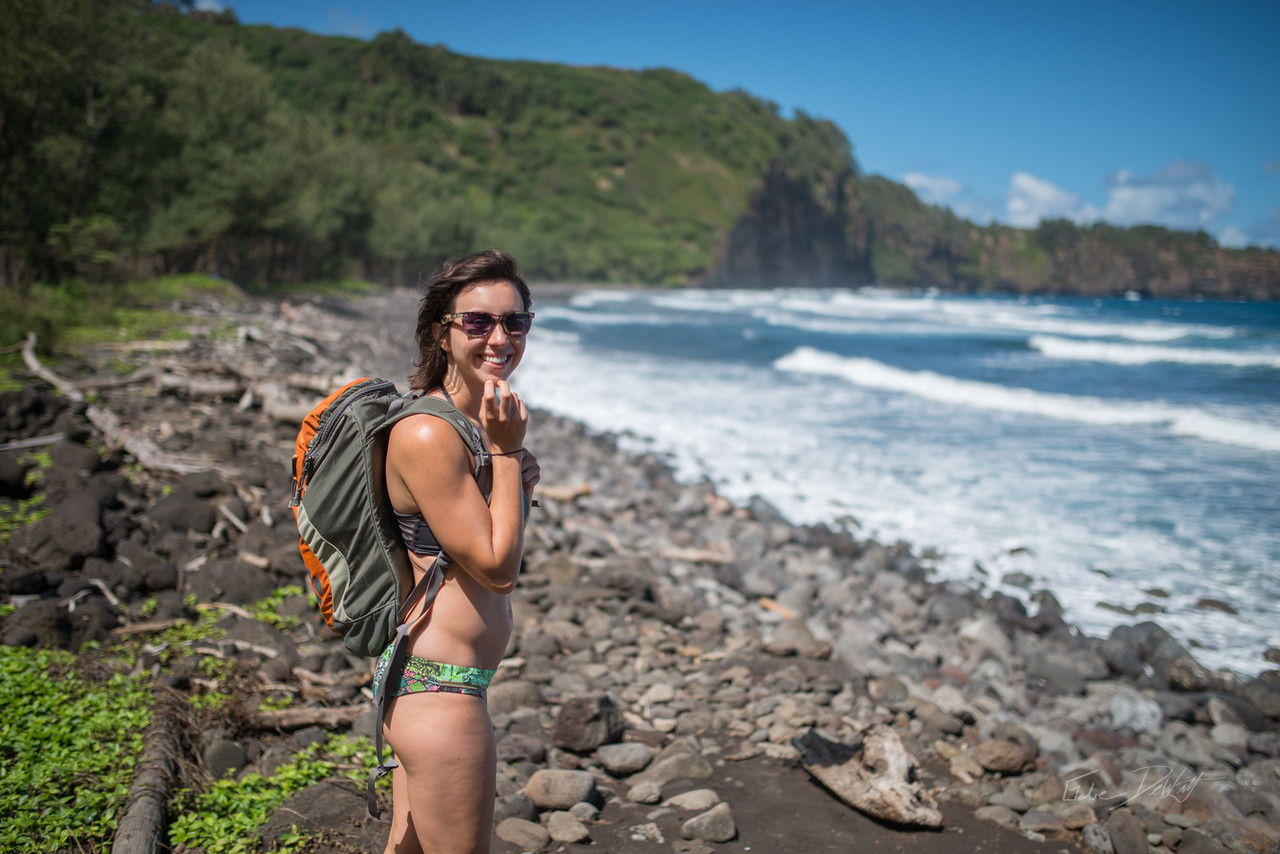 Pololu; Valley; Hawaii; 155; Big Island; Black Sand; By Gabe DeWitt; HW; Jungle; Nikon; Nikon D800; Places; Pololu Valley; Travel; Winter in Hawaii; beach; island