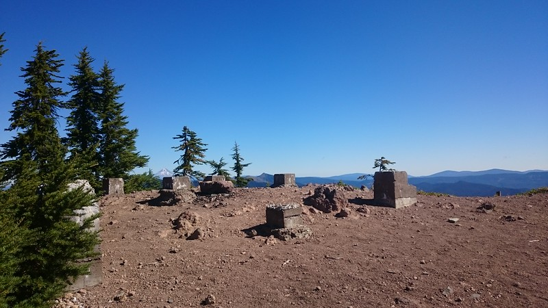 Remains of Battle Axe fire lookout