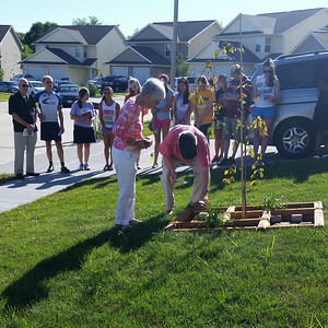 Memorial Garden Ceremony - 2015 Memorial Build
