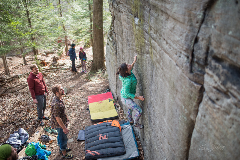 Mountaineer's-Route-bouldering-Coopers-Rock-WV-91