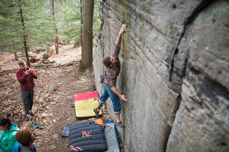 Mountaineer's-Route-bouldering-Coopers-Rock-WV-50