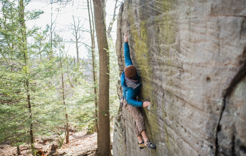 Mountaineer's-Route-bouldering-Coopers-Rock-WV-77