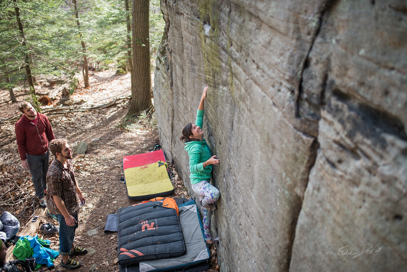 Mountaineer's-Route-bouldering-Coopers-Rock-WV-87