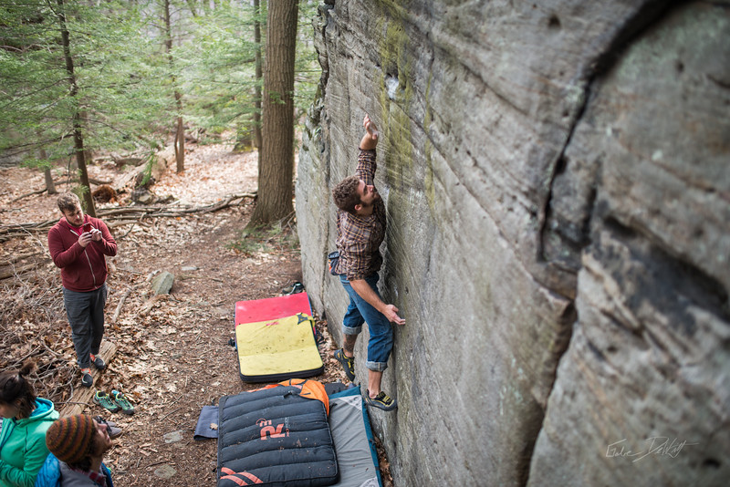 Mountaineer's-Route-bouldering-Coopers-Rock-WV-49