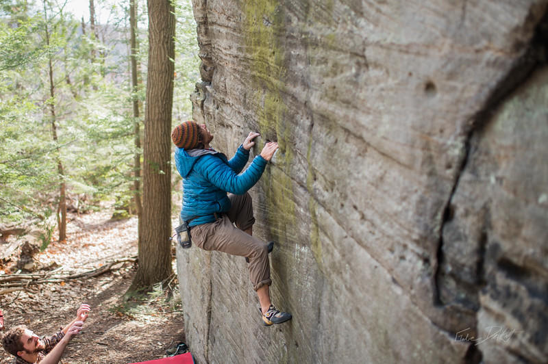 Mountaineer's-Route-bouldering-Coopers-Rock-WV-68