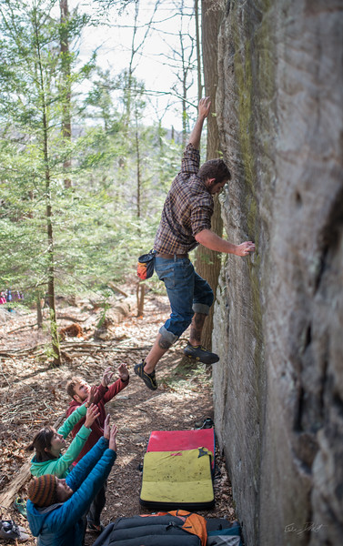 Mountaineer's-Route-bouldering-Coopers-Rock-WV-129