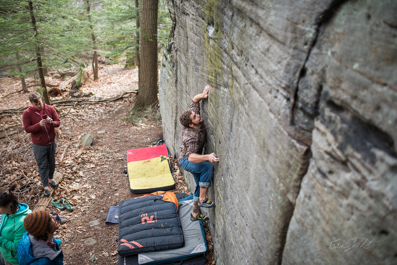 Mountaineer's-Route-bouldering-Coopers-Rock-WV-47