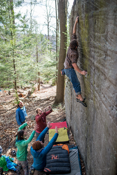 Mountaineer's-Route-bouldering-Coopers-Rock-WV-149
