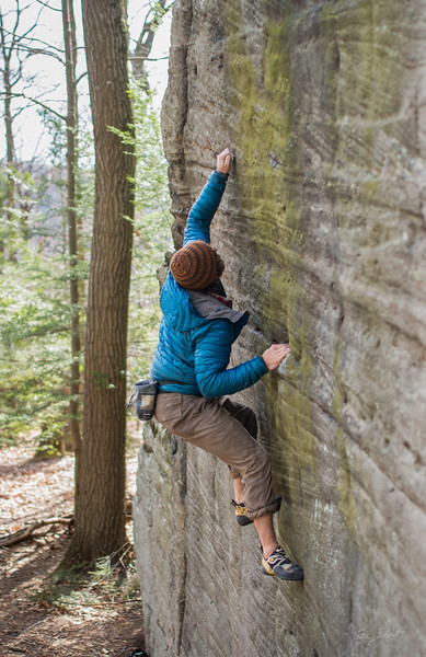 Mountaineer's-Route-bouldering-Coopers-Rock-WV-73