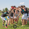 Seattle Nimbus v Raleigh Warhawks Girls Division U19 Quarterfinals at USA Ultimate Youth Club Championships at National Sports Center in Blaine, Minnesota on 13 August 2016