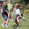 Seattle Nimbus v Boston Buda Girls Division Semi-Final at USA Ultimate Youth Club Championships at National Sports Center in Blaine, Minnesota on 14 August 2016