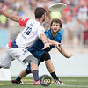 Seattle Cascades v Dallas Roughnecks in championship final of AUDL Championships in Madison, Wisconsin on 7 August 2016