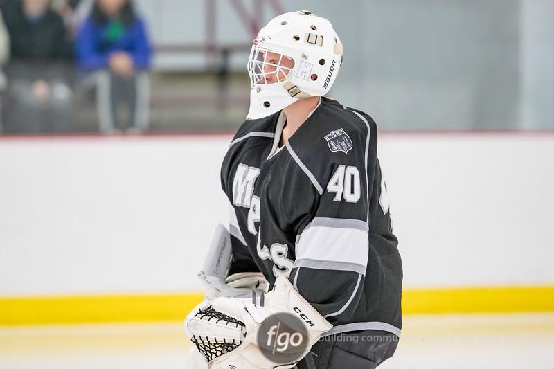 Blake v Minneapolis Boys Hockey at Parade Ice Garden on 6 December 2016