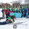 This year's Minne-Loppet drew hundreds of young skiers, including a team from Armatage School from southwest Minneapolis.
