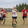 Denver Molly Brown v Seattle Riot Women's Division day 1 pool play of the USA Ultimate US Open at University of Rhode Island in Providence, RI on 1 July 2016