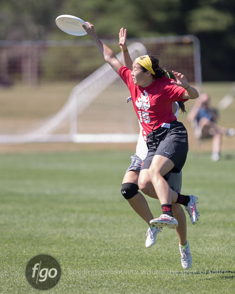 Washington, D.C. Scandal v Seattle Riot Women's Division day 2 pool play of the USA Ultimate US Open at University of Rhode Island in Providence, RI on 2 July 2016