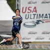 University of Wisconson Bella Donna v Whitman College Sweets Day 1 Pool Play at USAU 2016 College D1 Nationals in Raleigh, North Carolina