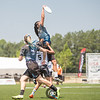 UCLA BLU University of British Columbia Thunderbirds Women's Division at USA Ultimate College D1 Championships in Raleigh, North Carolina on 27 May 2016