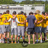 Oregon Ego v Colorado Mamabird at Day 2 of the USAU Ultimate College D1 Championships at the WRAL Soccer Park in Raleigh, North Carolina on 28 May 2016