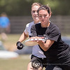 Colorado Kali v California Pie Queens at Day 2 of the USAU Ultimate College D1 Championships at the WRAL Soccer Park in Raleigh, North Carolina on 28 May 2016