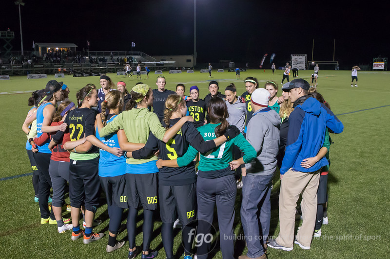 Men's Divison Semi-finals Boston Brute Squad v Denver Molly Brown at USA Ultimate National Championships in Rockford, IL on 1 October 2016