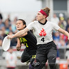 Boston Brute Squad v Seattle Riot Women's Division Finals at the USA Ultimate National Championships at Mercy Sportscore 2 in Rockford, IL on 2 October 2016